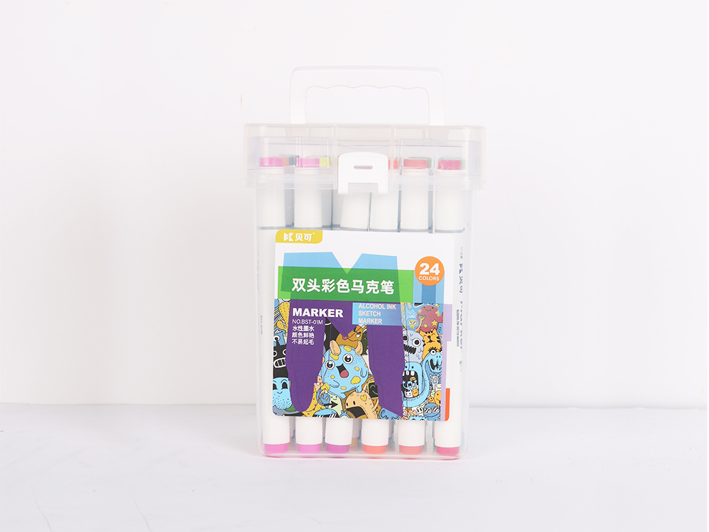 Double-headed color marker 24 colors