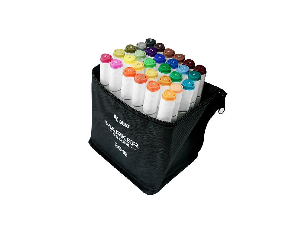 Color bag markers 30 colors
