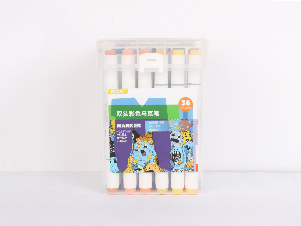 Double-headed color marker 36 colors
