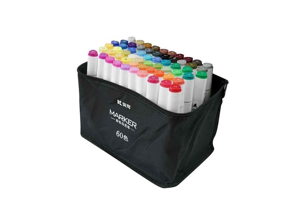 Color bag markers 60 colors