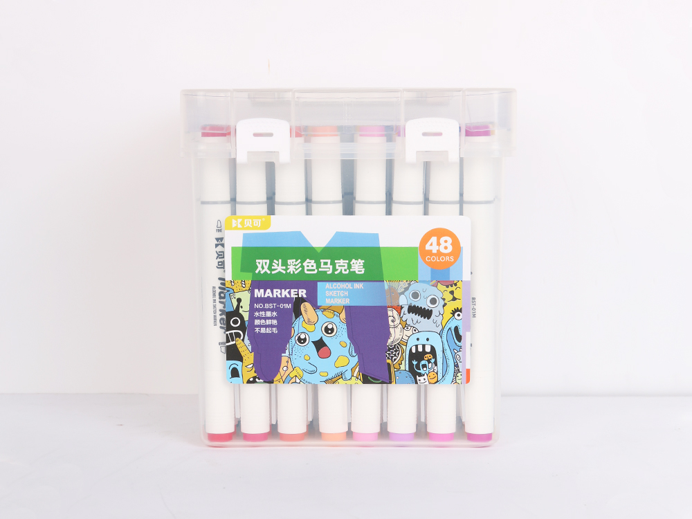 Double-headed color marker 48 colors