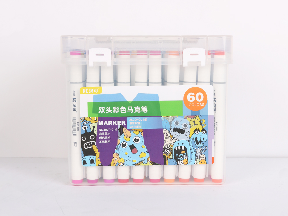 Double-headed color marker 60 colors